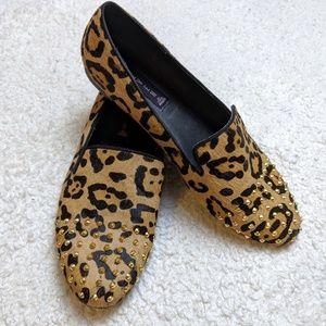Steve By Steve Madden Leopard Loafers